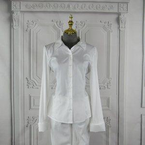 Calvin Klein Shirt Button-Up Long Sleeve Size M